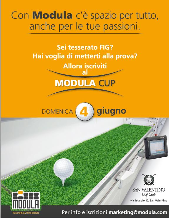"""Domenica 4 giugno al via la terza edizione del """"Modula Cup"""""""