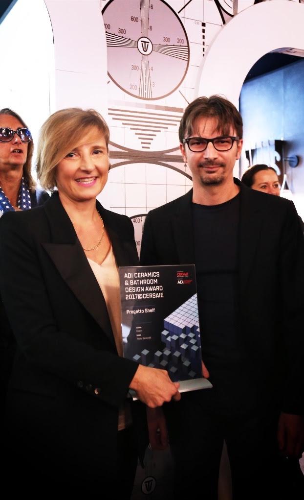 """""""Shelf"""" di Coem tra i vincitori di ADI Ceramics & Bathroom Design Award 2017"""