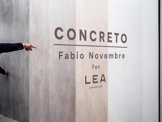 LEA – CONCRETO by Fabio Novembre