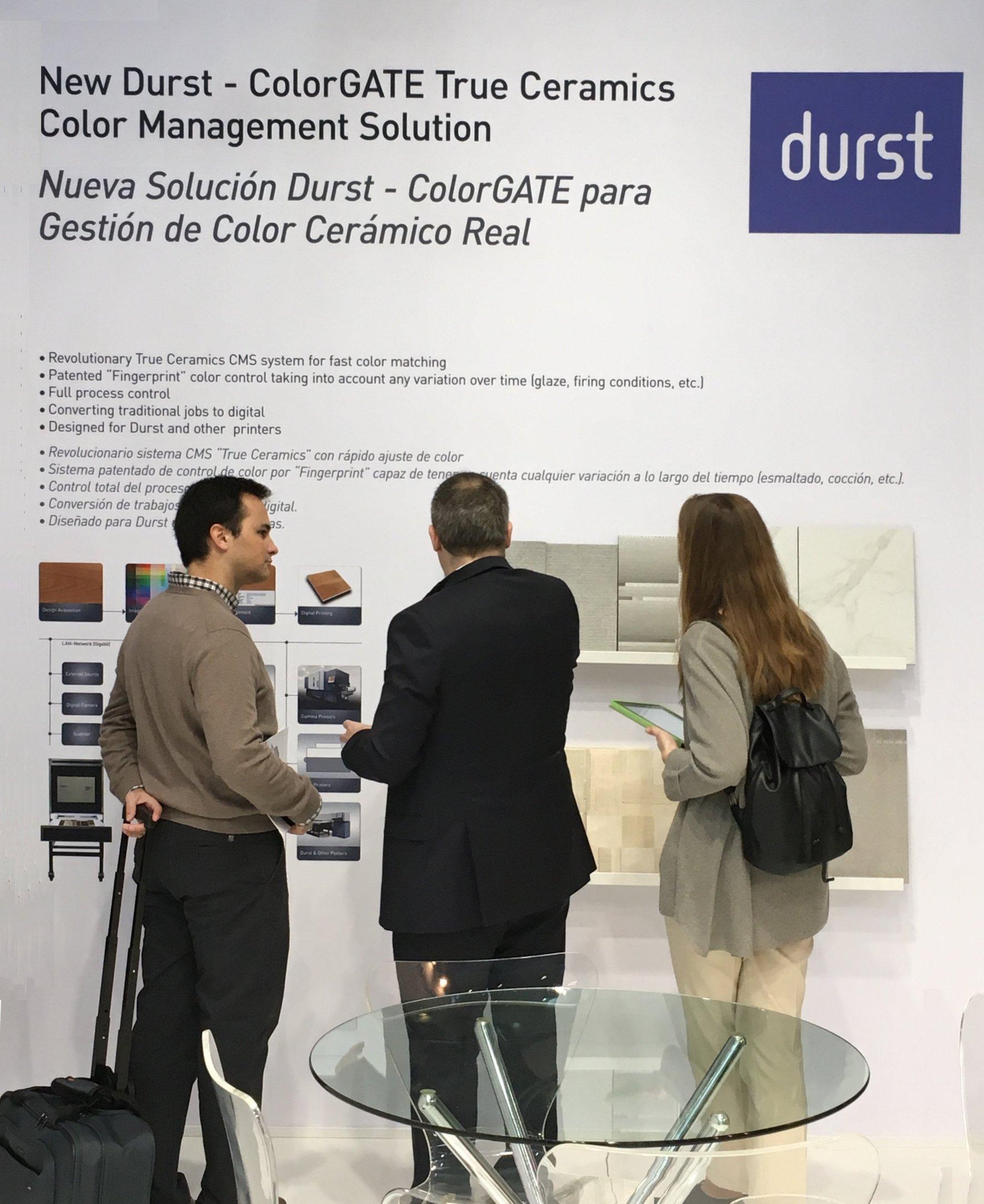 ColorGATE e Durst Phototechnik Spa  annunciano un'esclusiva partnership di distribuzione Innovativa soluzione di gestione dei colori per la stampa digitale su ceramica