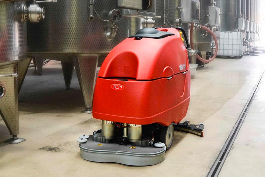 Macchine per la pulizia dell'industria alimentare: lavapavimenti per industria alimentare