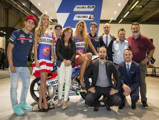 DEL CONCA special event with GRESINI TEAM