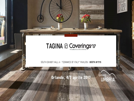 TAGINA at COVERINGS 2017