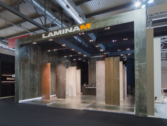 LAMINAM at FUORISALONE DEL MOBILE 2017