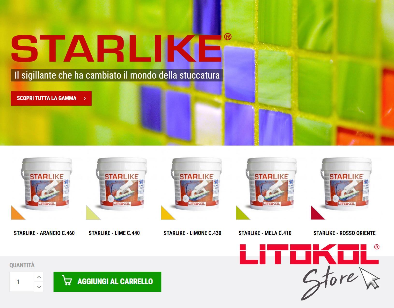 E' nato lo store online di Litokol