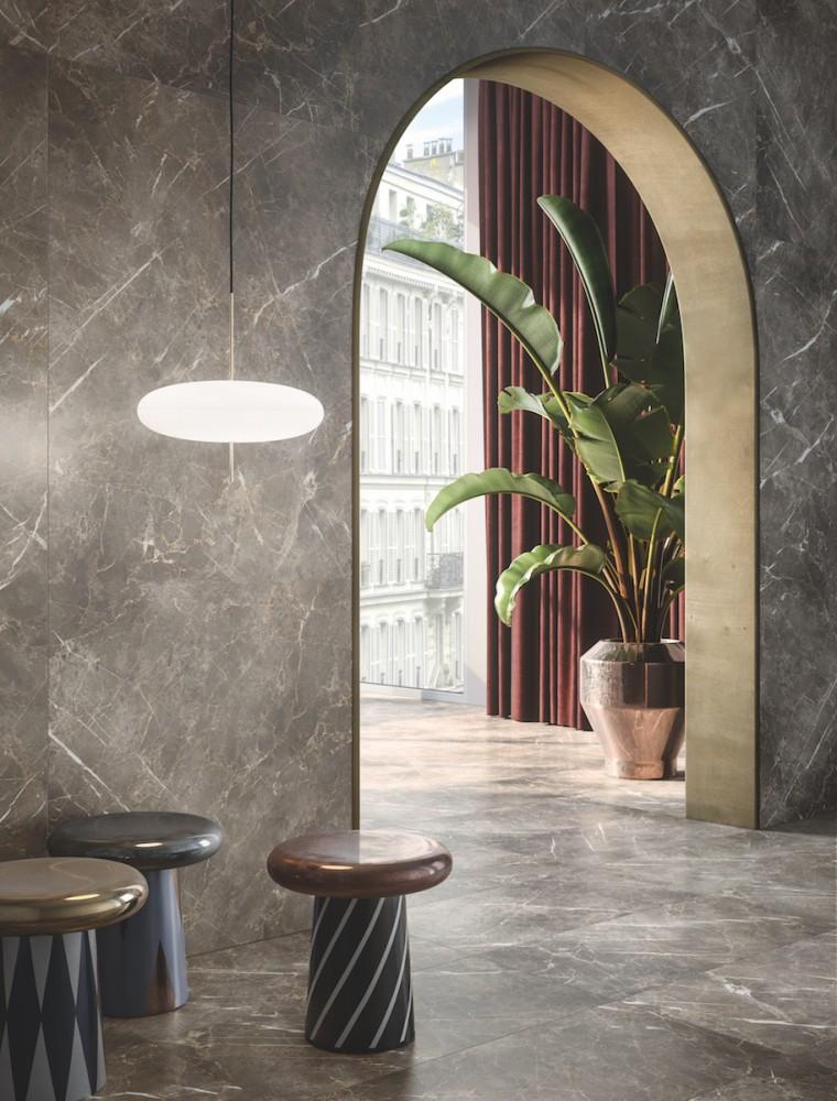 Eclectic: tutta la forza espressiva e la seduttività del marmo reinterpretate da Ceramiche Keope.