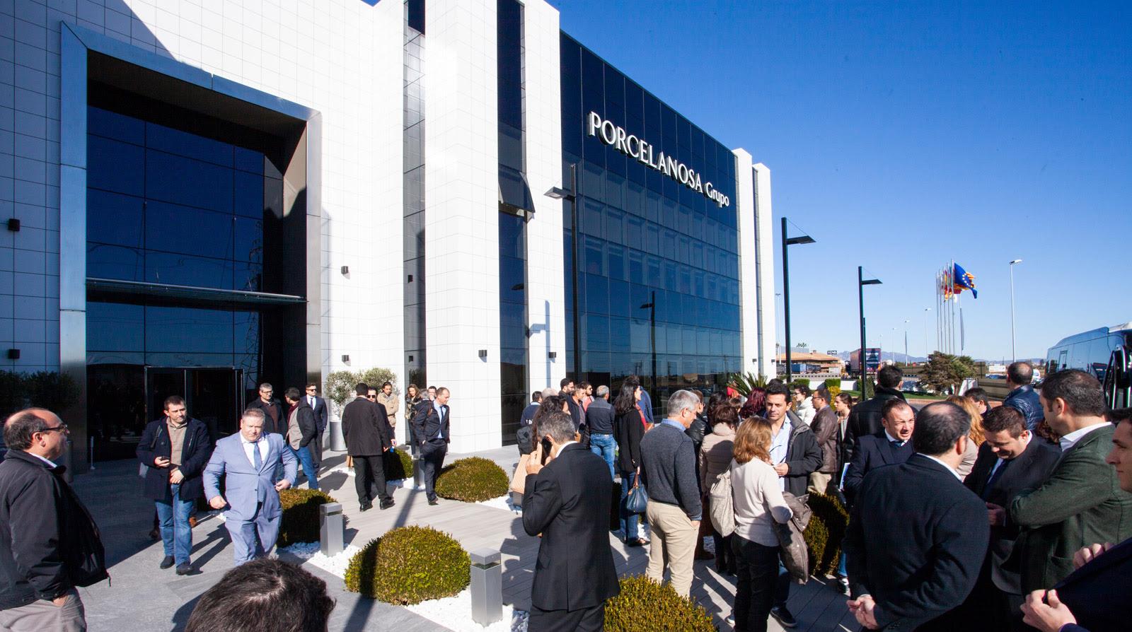 PORCELANOSA Grupo chiude la XXVI Mostra Internazionale con più di 12.000 visitatori