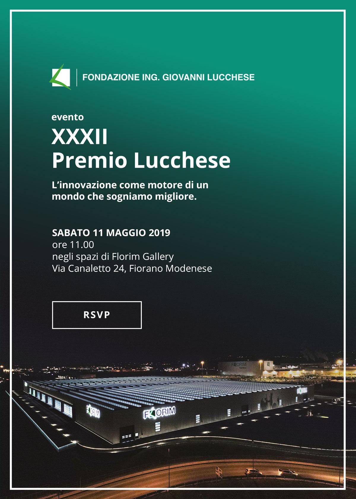 La XXXII edizione del Premio Lucchese