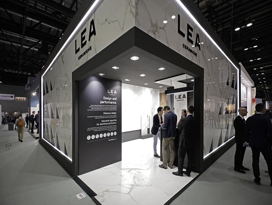 LEA CERAMICHE at COVERINGS 2019