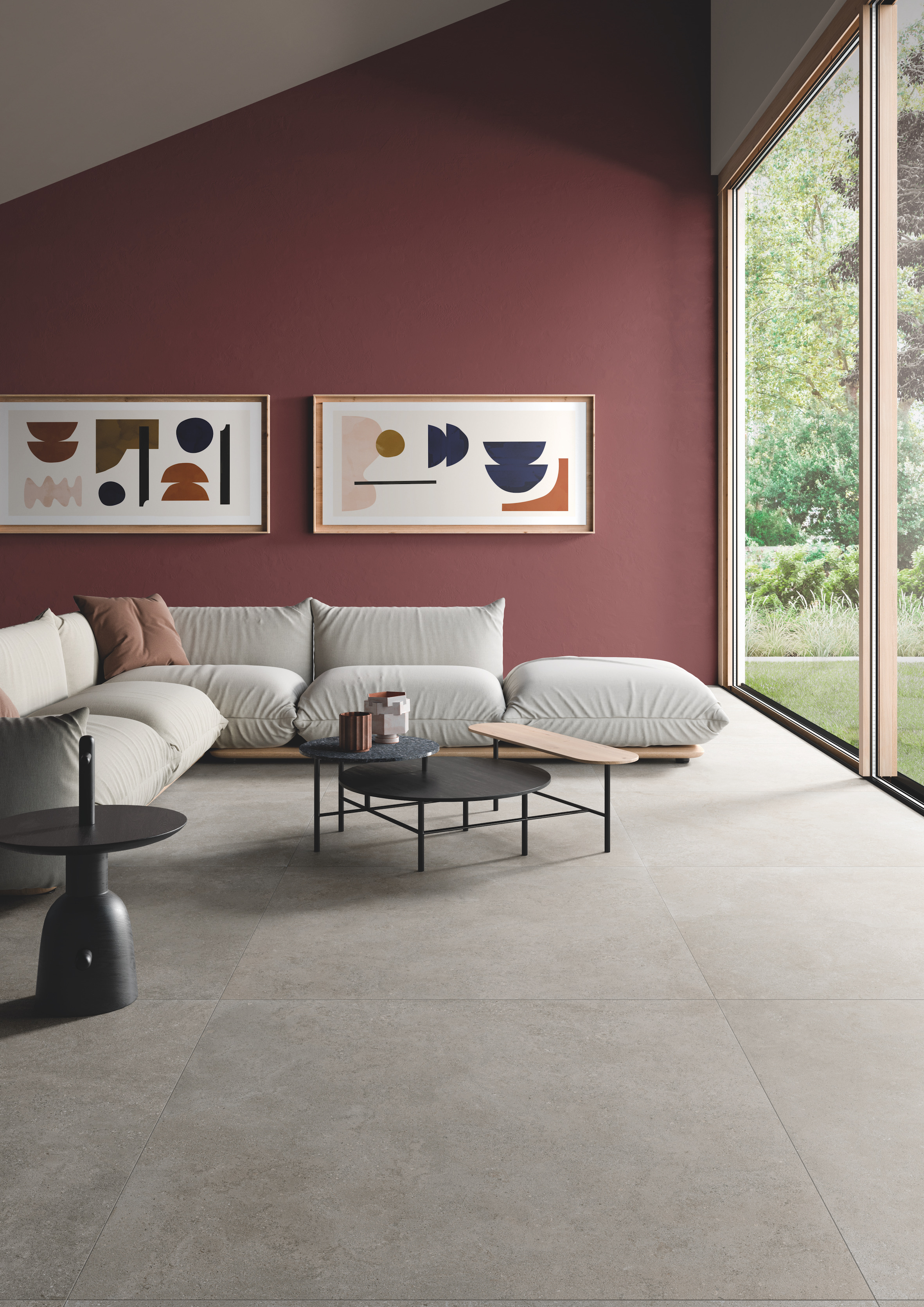 Brystone: la naturalezza del limestone reinterpretata da Ceramiche Keope.