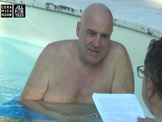 IN PISCINA CON ALBERTO FORCHIELLI