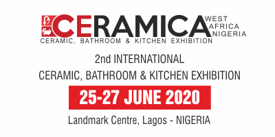First edition of Ceramica West Africa 2019: International Ceramic, Bathroom & Kitchen Exhibition whichis organized by Elan Expo took place on 27-29 June 2019 at Landmark Centre at Lagos, Nigeria.