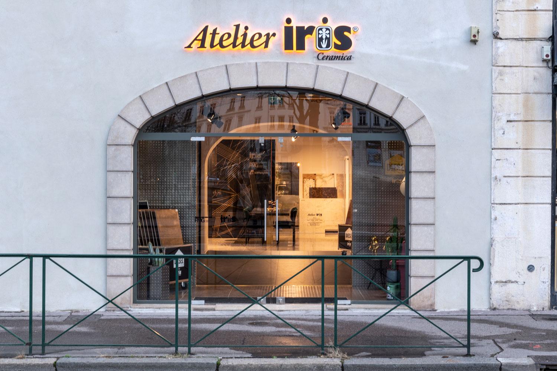 Inaugurato a Lione il nuovo showroom dei brand Iris Ceramica-FMG Fabbrica Marmi e Graniti